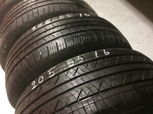 4 Nexen all season tires:205/55R16