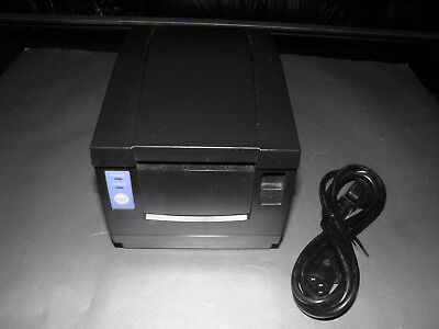 Citizen Cbm-1000 Thermal Pos Receipt Printer Serial Interface W Power Supply