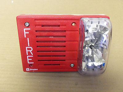 Used Simplex 4903-9142 Av Speaker Strobe Fire Alarm