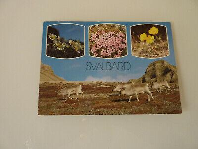 SVALBARD 1988 (Polarpost/Arktis/Briefmarken/Norwegen/Ansichtskarten) ()