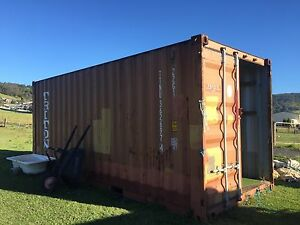 20 foot shipping container horse tack shed Albion Park Shellharbour Area Preview