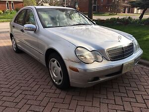 2002 Benz C240 Classic perfect engine and transmission