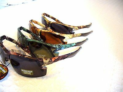 MEN'S POLARIZED SUNGLASSES CAMO HUNTING BBSE-2P