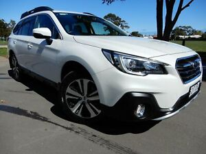 2019 Subaru Outback B6A MY19 2.5i CVT AWD White 7 Speed Constant Variable Wagon Glenelg East Holdfast Bay Preview