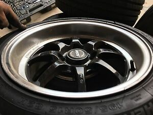 4x100 ssw tuning rims 15x7.5+30 Glenwood Blacktown Area Preview