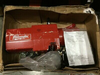 Milwaukee Electric Chain Hoist 2 Ton 10 Ft 9571 Industrial Chain Lift