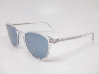 Oliver Peoples OV 5219S Fairmont Sun 110156 Crystal with Cobalto (S Oliver Sunglasses)