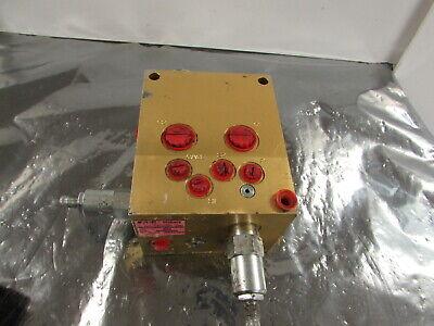 Eaton Vickers Mcd-2462 Revision G Mcd2462 Hydraulic Valve Manifold Good