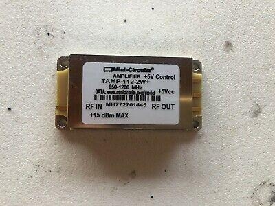 Mini-circuits Amplifier Tamp-112-2w 650-1200 Mhz 5v Control 15 Dbm