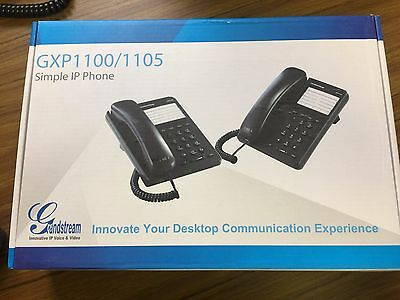 Grandstream Gxp1100 Single Line Hd Voip Phone Nib