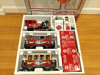 LGB G SCALE 72534 CHRISTMAS PASSENGER TRAIN SET NEW IN BOX -COMPLETE