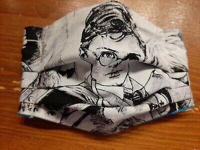 Kinder-Mund-Nasen-Schutz/BW-Falten Maske Gr.XS(UNIKAT-Harry Potter)Brillenträger