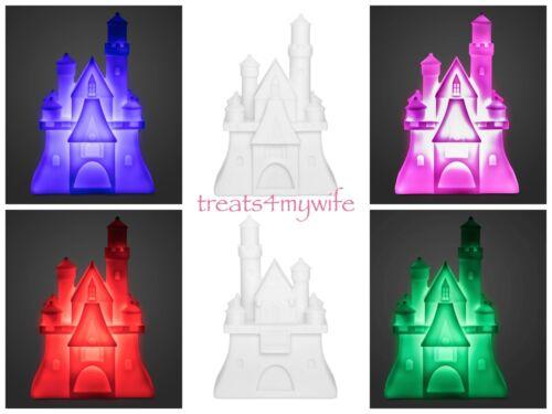 NEW Disney Parks Fantasyland Castle Color Changing Night Light Nightlight