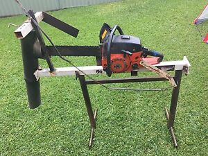 chainsaw with stand St Clair Penrith Area Preview