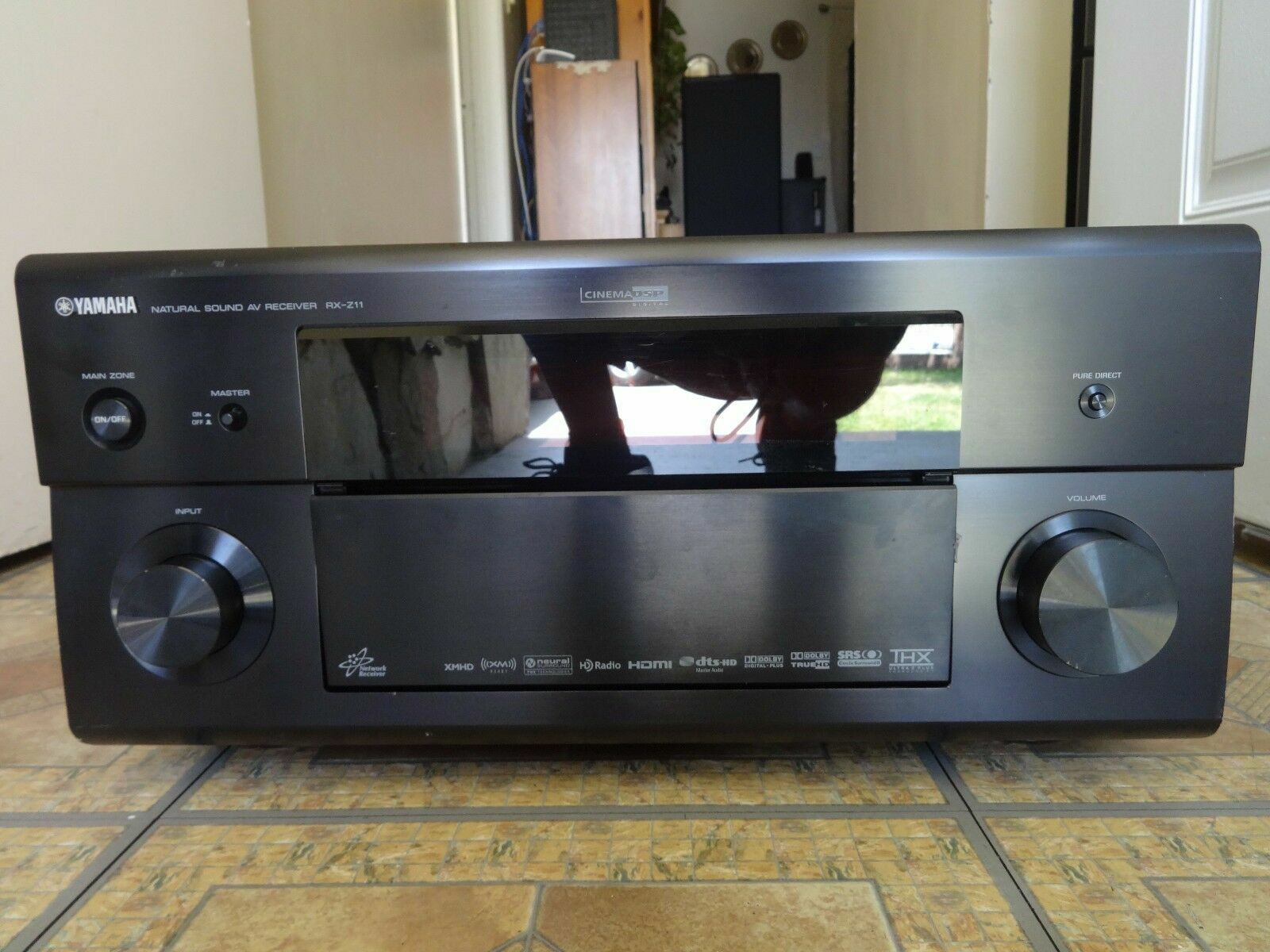 Yamaha RX RX-Z11 11 2 Channel 1180 Watt Receiver