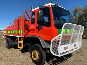 Isuzu FTS750 4x4 4000 Litre Forest Fire Fighting Truck.Ex Govt. Gaam Inverell Inverell Area Preview