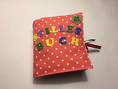 Quiet book für Kinder/ Stilles Buch, Fühlbuch, Stoffbuch