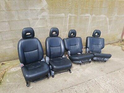 Totota Rav4 Leather seats 2000 2001 2002 2003 2004 2005 front rear driver D4D