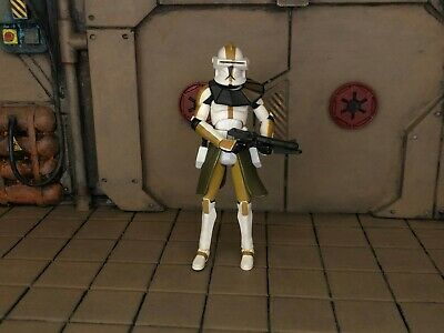 LOOSE STAR WARS THE CLONE WARS CLONE TROOPER COMMANDER BLY
