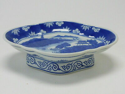 Hand Painted Pink China 3 Chinese Export Rooster Lotus Large Soup Blue Scalloped Ceramic Pottery Bowls Pier 1 Cereal Bowls
