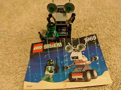 Vintage Systems Lego Mini Robot Set 1969 Space Police