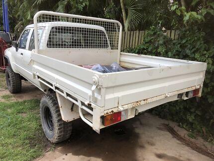 Toyota Hilux dualcab steel tray