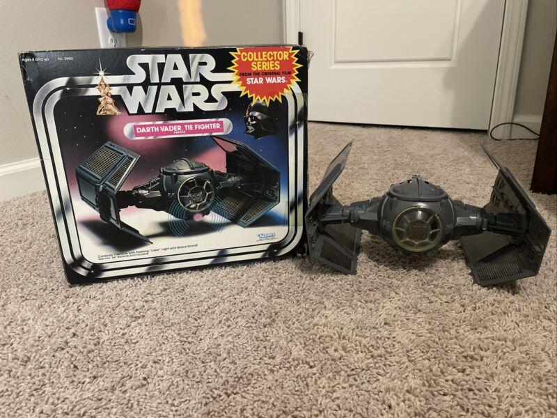 1978 Star Wars Darth Vader Tie Fighter w/box *Very Clean*