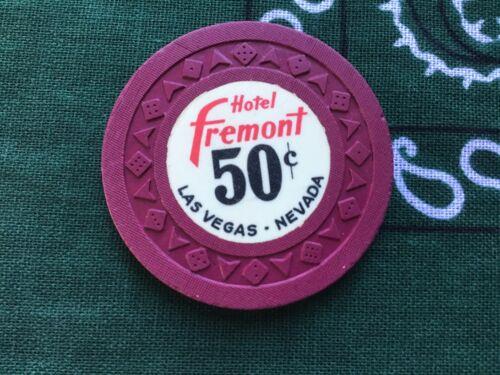 Hotel Fremont, Las Vegas NV $0.50 fractional casino chip