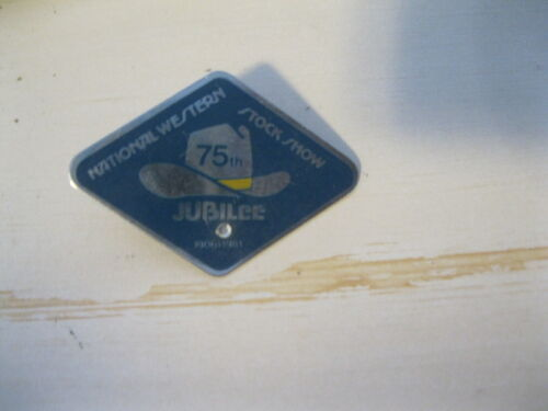 National Western stock show 75th Jubilee pin