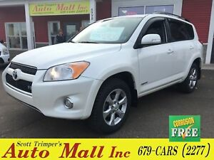 2010 Toyota RAV4 Limited/Sunroof/Leather