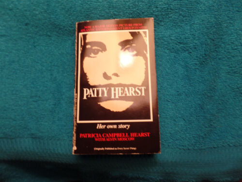 Rare Patty Hearst Autographed  book  JSA Certified
