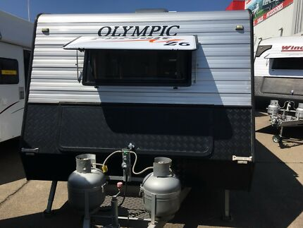 2014 Olympic 21' Pursuit Z6 Ensuite Caravan North St Marys Penrith Area Preview
