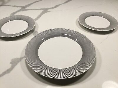Pier One Stripped Black & White Dishes