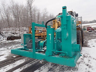 2006 Complete Dewatering 10 Well Point Water Pump 2 Avail Electric 3ph 75 Hp