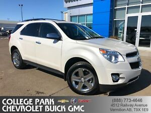 2014 Chevrolet Equinox LTZ  Leather Sunroof  All Wheel Drive