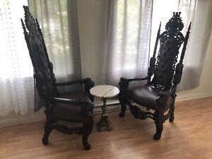 Chaises de Roy (trône)
