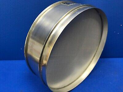 Humboldt No. 80 Usa Standard Testing Sieve Stainless Steel 12dia X 3-14deep