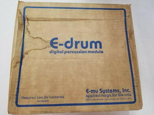 RARE Vintage 1984 E-mu EDrum Digital percussion module