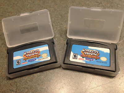 HARVEST MOON FRIENDS MORE FRIENDS OF MINERAL TOWN GAMEBOY ADVANCE GBA LOT