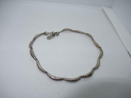 Sterling Silver Bracelet Jewelry Vintage Designer Signed (533G)