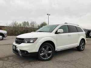 2018 Dodge Journey CROSSROAD**AWD**DVD**LEATHER**NAV**SUNROOF**