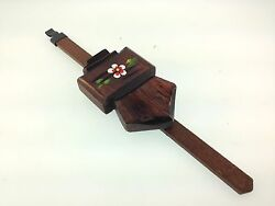 German made Chalet cuckoo clock pendulum for 30 hour and 8 day movements