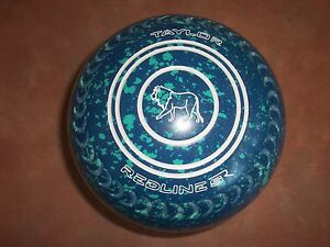 Taylor REDLINE SR Lawn Bowls Size 4H WB24 Grips Colour Blue Mint Surfers Paradise Gold Coast City Preview