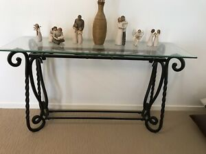 La Credenza Hume : Wrought iron side table buffet credenza buffets & tables
