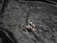 Anillo Tribu Zuni Plata 924 Y Turquesas En Snake Eye Talla 5 -  - ebay.es