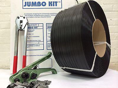 Jumbo Strapping Kit 58 X .027 X 750 Lbs Brake Strengt Seals Tools