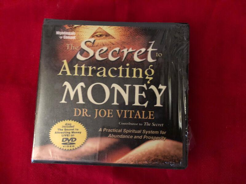 NEW- THE SECRET TO ATTRACTING MONEY BY DR JOE VITALE DVD & CDROM SET
