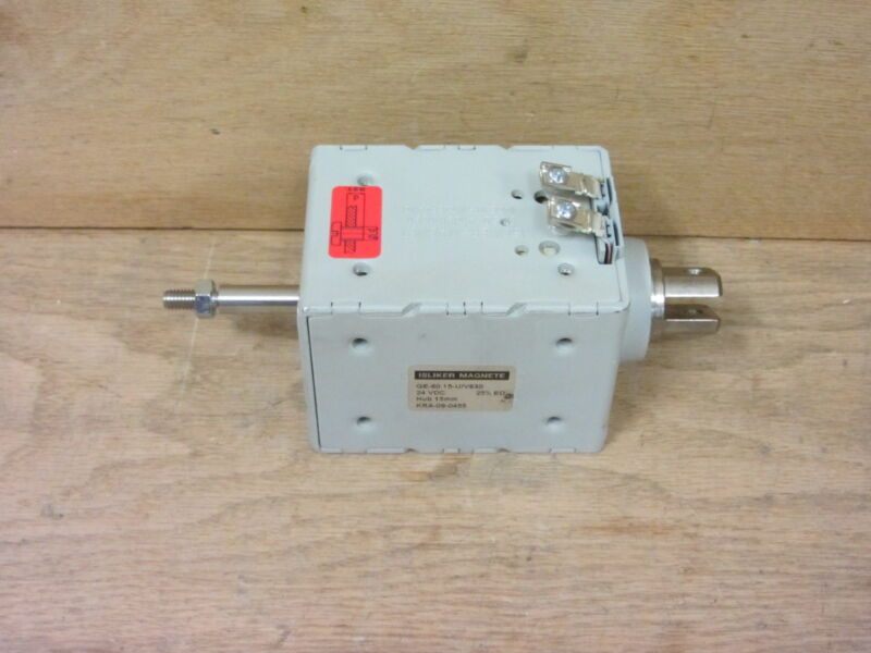Isliker Magnete Ge-60.15-u/v630 24vdc Kra-09-0455 New No Box Aby2