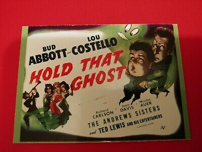 Used, 1996 Duo Cards Abbott & Costello #22 Hold That Ghost for sale  Saint Louis