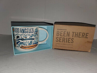 NEW BLUE STARBUCKS BEEN THERE SERIES LOS ANGELES MUG 2018